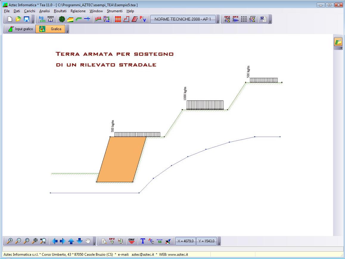 Dossier muro di cinta recinzione di contenimento sostegno for Software gratuito per la progettazione di piani di casa